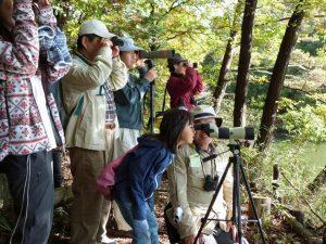 サンデンフォレスト「野鳥観測会」