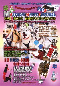 前橋ホワイトフェスティバル~犬と遊ぼう!犬ぞり&ザ・レース@マウント赤城