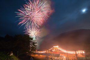 第31回くろほね夏まつり(桐生市)フィナーレ花火に合わせ、わたらせ渓谷鐡道 臨時列車が走ります!