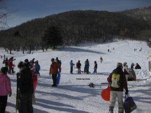日本一小さいスキー場!? 赤城山第1スキー場