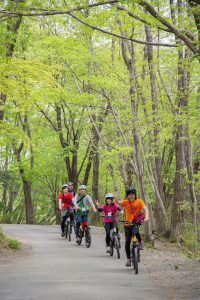 AKAGI e-Bikeサイクリングツアー「夏でも涼しい赤城山 リトリートサイクリング 」坂道もラクラク♪e-Bikeレンタル付