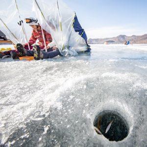 赤城山 大沼 氷上ワカサギ釣り 2021年1月11日(月祝)解禁!※2021年シーズン3/13終了