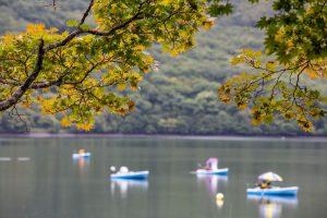 赤城山 大沼ワカサギボート釣り