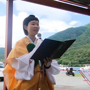 山伏女子と行く地蔵岳修験道体験