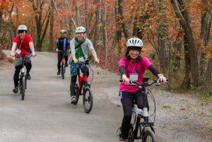 紅葉の赤城山くろほね e-Bikeサイクリング